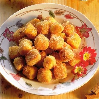 Gnocchetti di semolino fritti