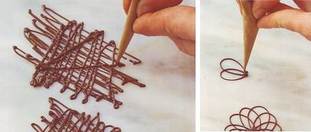 Come Decorare con il cioccolato
