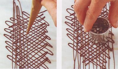 Come decorare con il cioccolato ricette semplici - Decorare frigorifero ...