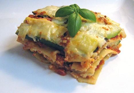 Lasagne fatte in casa con le zucchine