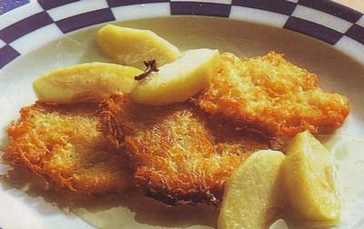 Schiacciatine dolci di patate e mele