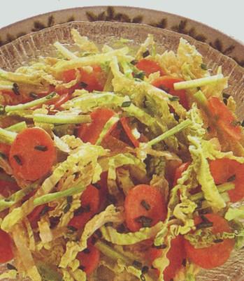 Insalata di verza e carota