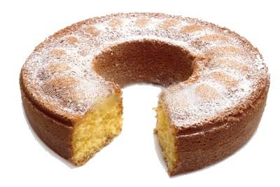 Ciambella allo zucchero a velo