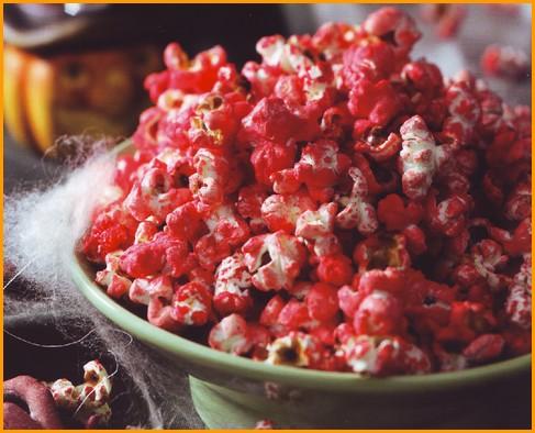 Pop corn infuocati e caramellati